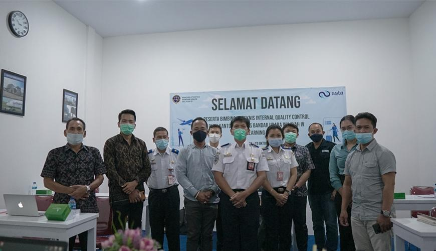 Bimbingan Teknis Internal Quality Control Oleh Kantor Otoritas Bandar Udara Wilayah IV