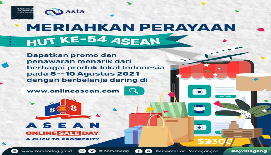 Keikutsertaan ASTA di Asean Online Sale Day 2021